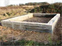 Как построить фундамент под гараж