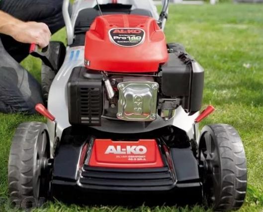 Немецкая газонокосилка АЛКО с гарантией легкого сервиса и простого управления
