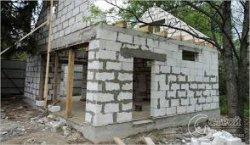 Строим гараж из пеноблоков