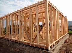 Каркасное строительство жилого дома
