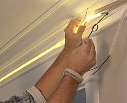 Монтаж светодиодной ленты в алюминиевый профиль