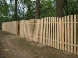 Строим забор из дерева