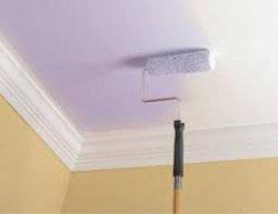 Как покрасить потолок собственноручно