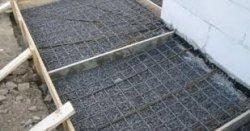 Как залить бетонную отмостку