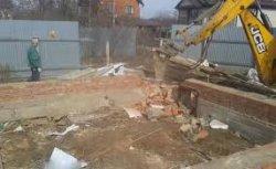 Как демонтировать ленточный фундамент