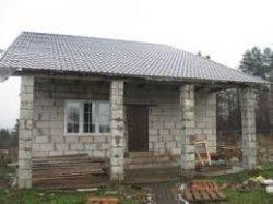 Как построить летний домик из блоков