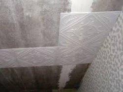 Отделка потолка потолочной плиткой