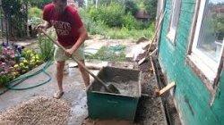 Как замесить бетон для фундамента