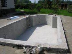 Как построить бетонный бассейн своими руками