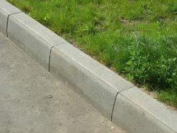 Как установить дорожный бордюр