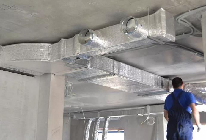 Монтаж вентиляции - типы, этапы, решение проблем