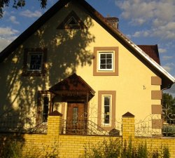 Как покрасить фасад домовладения