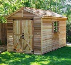 Строим деревянный сарай