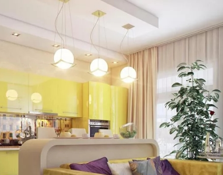 Дизайнерское освещение для гостиной, спальни и кухни