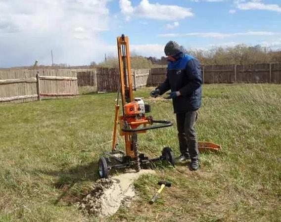 Полевые работы в геологии участков под строительство