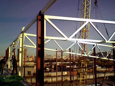 Какие требуются бетонные работы при сборке металлоконструкций?