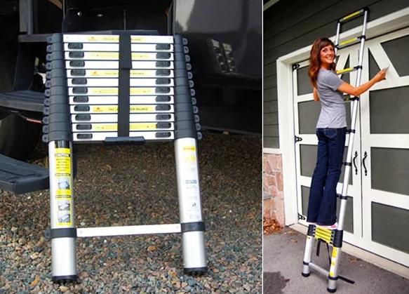Как выбрать телескопическую лестницу