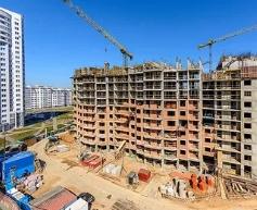 Воздушная съемка строительного объекта
