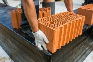 Блок керамический в строительстве