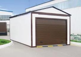 Строительство гаража из сэндвич – панелей