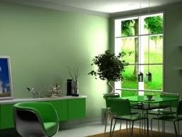 Зеленый - самый свежий цвет для интерьера