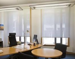 Рулонные шторы - лучшее решение для офисов