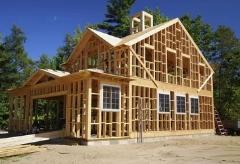 Каркасные дома: преимущества и технология строительства
