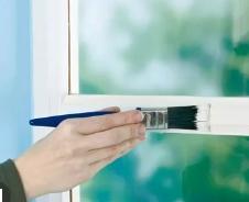 Способы окраски пластиковых окон