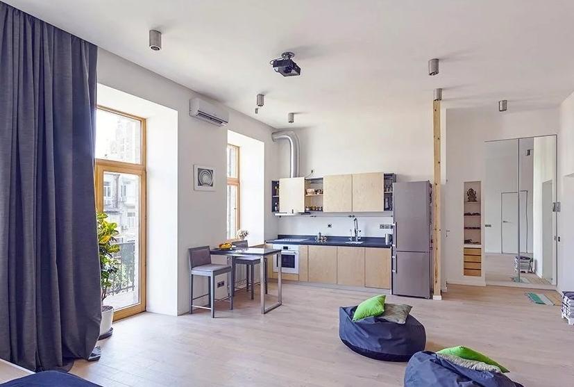 На что обратить внимание начиная ремонт квартиры студии