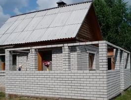 Как построить пристройку к дому из пеноблоков?