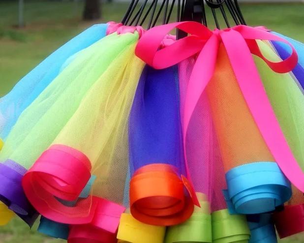 Фатиновая юбка: поделки для детей своими руками