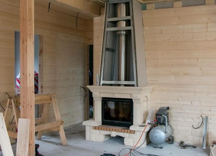 Рекомендации по установке дровяного камина